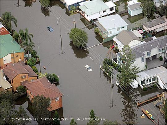 When a flood is not a flood