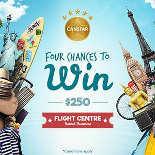 Canstar 2016 Flight Centre Travel Voucher Promotion