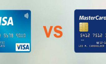 Visa card and mastercard