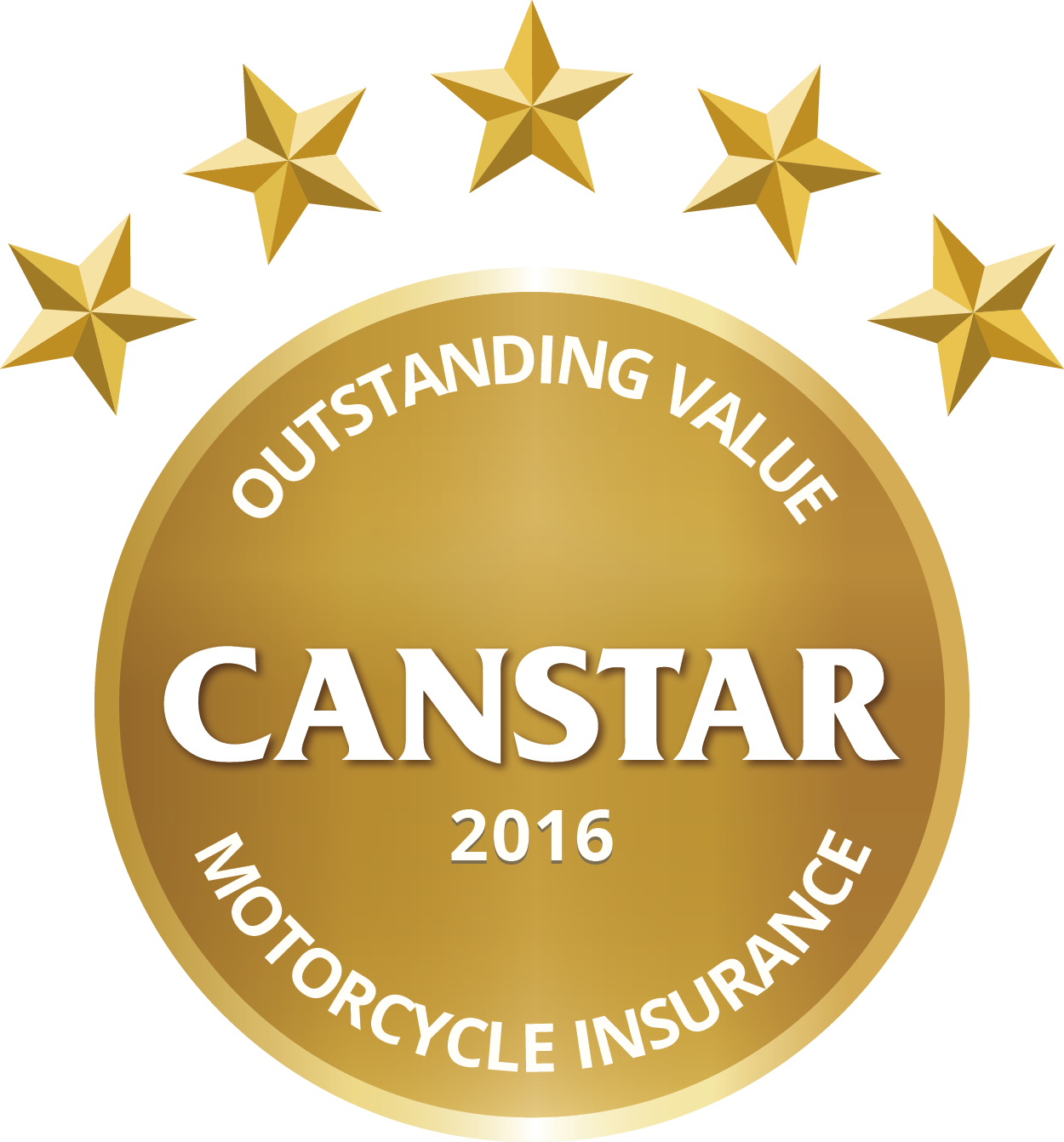 CANSTAR 2016 – Outstanding Value-Motorcycle Insurance