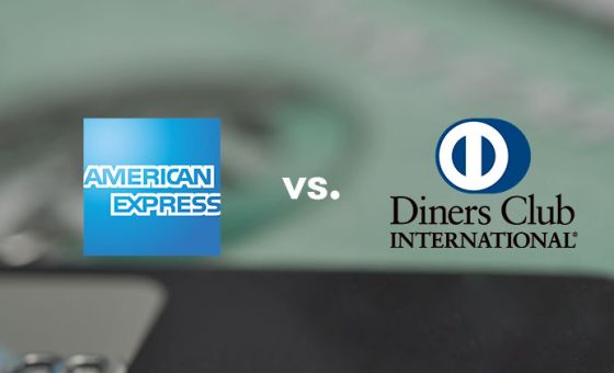 What are the differences between American Express and Diners Club?