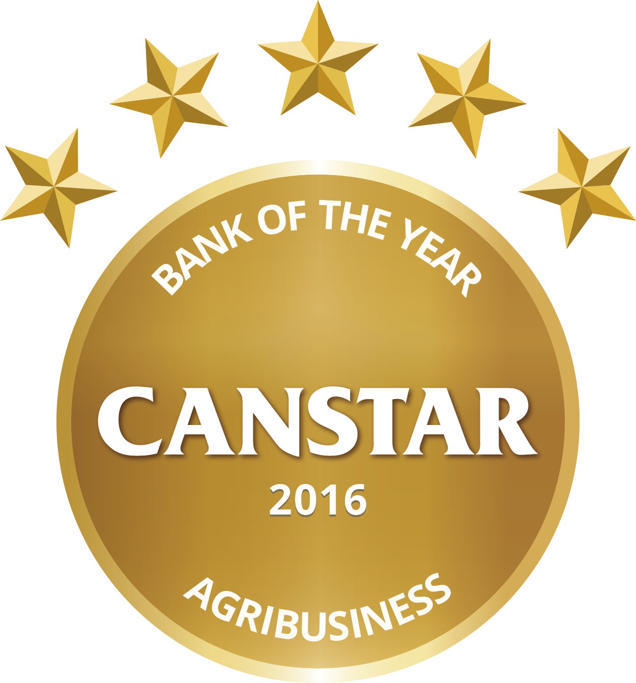 CANSTAR 2016 – Bank of the Year – Agribusiness