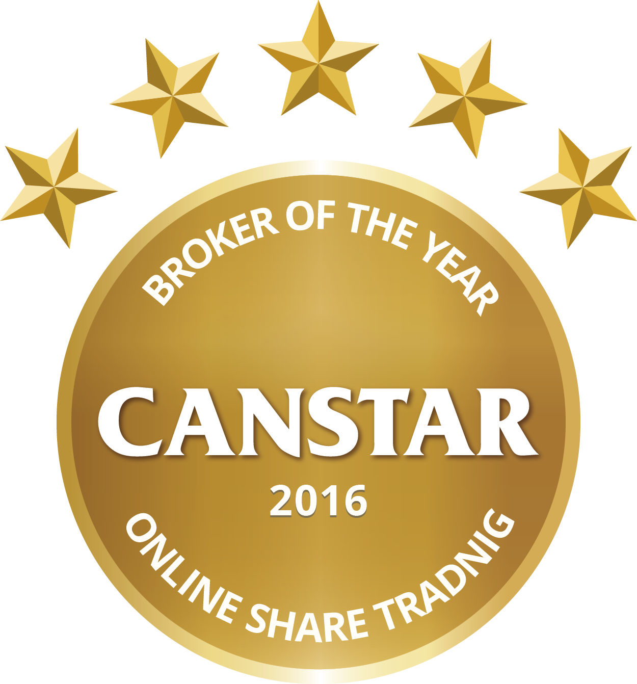 CANSTAR 2016 -Broker of the Year-Online Share Trading