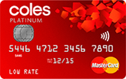 coles low rate mastercard