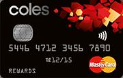 coles rewards mastercard