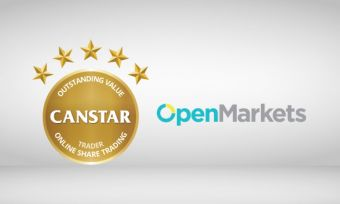 The OpenMarkets online share trading platform received a 5-star rating from CANSTAR in 2016. Here's why.
