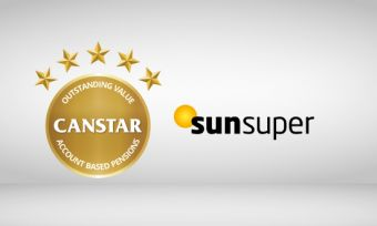 Sunsuper wins Canstar 5 star rating