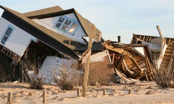 Storms have damaged coastal property – but would home insurance cover it?
