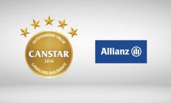 Allianz Australia wins Canstar outstanding value landlord insurance 2016