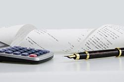Business transaction account summary