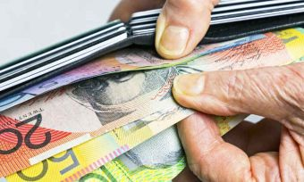Filing through money