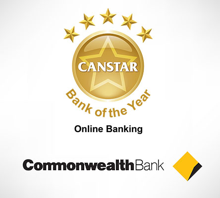 Commonwealth Bank wins CANSTAR Bank of the Year - Online banking award