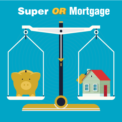 Should you put money into superannuation or home loan