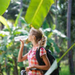 Staying hydrated while travelling