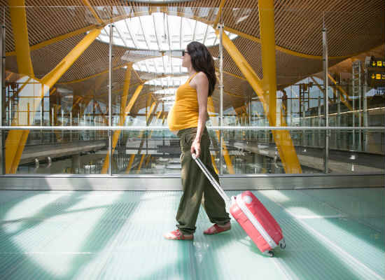 Travel insurance coverage while pregnant