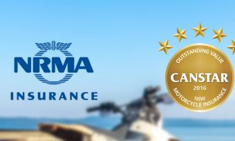 NRMA has achieved a Canstar 5 star ratings for motorcycle insurance in NSW