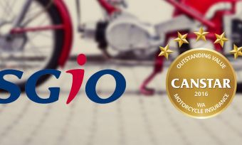 SGIO has achieved a Canstar 5 star rating for motorcycle insurance in WA