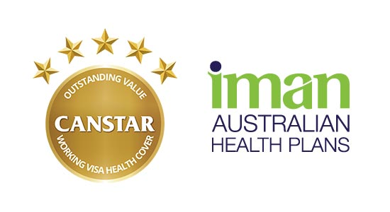 health insurance australia canstar  IMAN Working Visa Health Cover: Review
