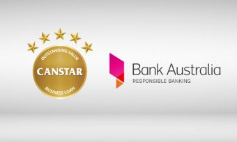 Bank Australia's Commercially Secured Overdraft received a 5-star rating from CANSTAR in 2016 for Business Loans in our Overdraft profile.