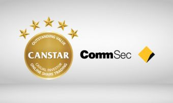 The CommSec online share trading platform received a 5-star rating from CANSTAR in 2016. Here's why.