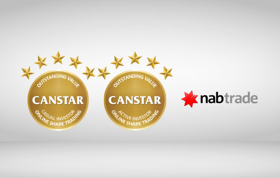 The nabtrade online share trading platform received a 5-star rating from CANSTAR in 2016. Here's why.