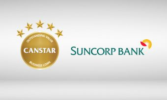 Suncorp's Commercially and Residentially Secured Term Loans received 5-star ratings from CANSTAR in 2016 for Business Loans in our Term Loans profile.