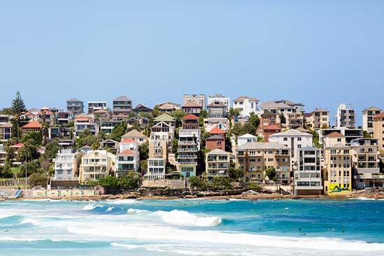 Sydney, Australia - Coastal Town Bondi
