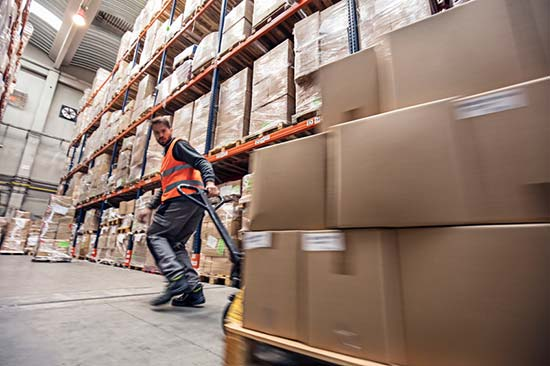 Self employment: warehousing