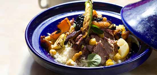 Lamb and couscous