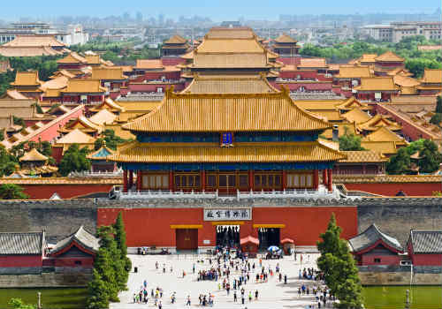 China - The forbidden city