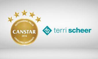 Terri Sheer wins Canstar outstanding value landlord insurance 2016
