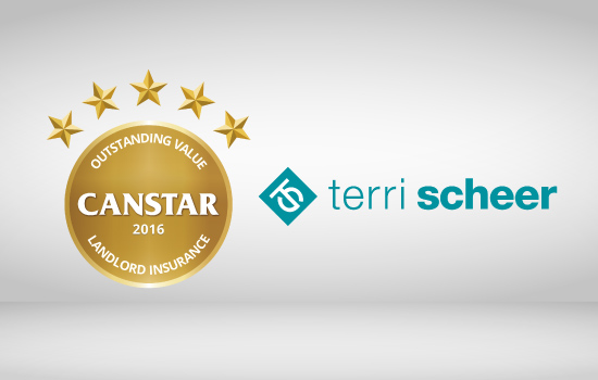 Terri Sheer wins Canstar outstanding value landlord insurance 2016