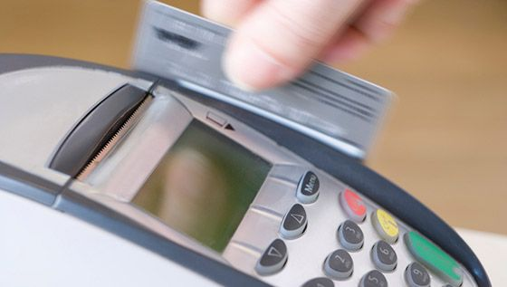 Credit cards are a form of unsecured lending
