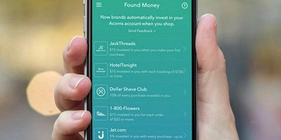 How Acorn Found Money works