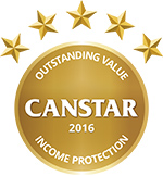 CANSTAR 2016 - Outstanding Value - Life Insurance - Income Protection
