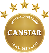 Canstar Outstanding Value Travel Debit Card